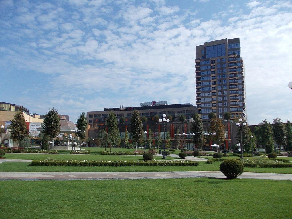 Parcul grădinile publice Palas